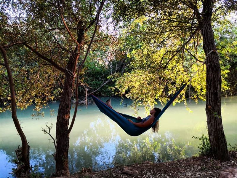 Sometimes the most productive thing you can do is  relax  camping ... (El Hermel)