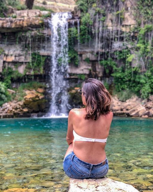 Run wild and free like a waterfall!..... natgeoshot  natgeotravelpic... (Lebanon)