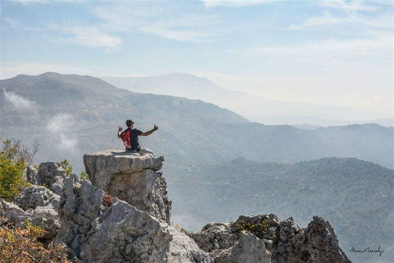 Breathe in, breathe out, hike!  JabalMoussa unescomab  unesco... (Jabal Moussa Biosphere Reserve)