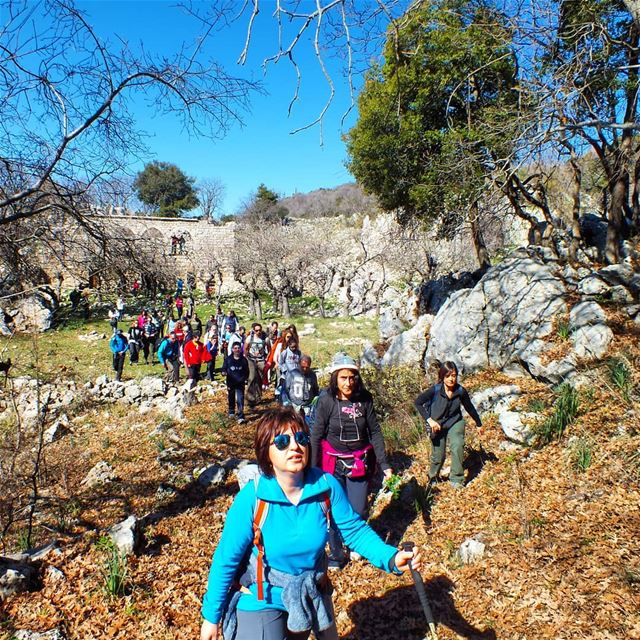 Explore Hiking in Jabal Moussa this Sunday. Booking +9613955642.🌲🌲🌲🌲� (Jabal Moussa Biosphere Reserve)