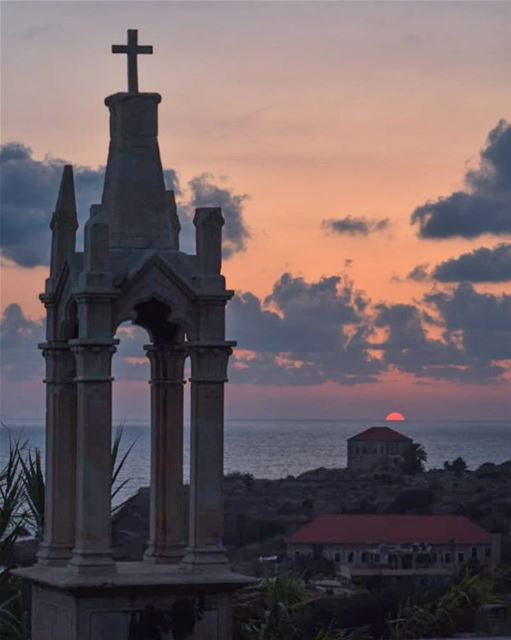 May the best of your todays be the worst of your tomorrows ♥️🌅🎼... (Byblos, Lebanon)