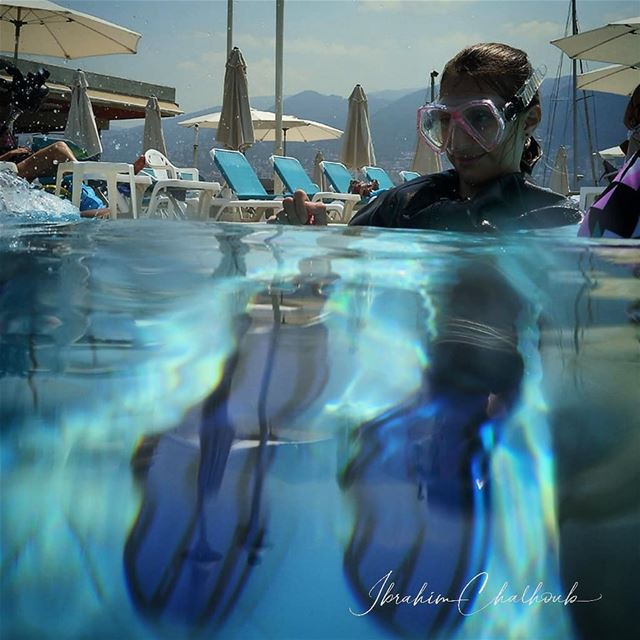 Some pool training -  ichalhoub in  Lebanon......  ig_energy ...