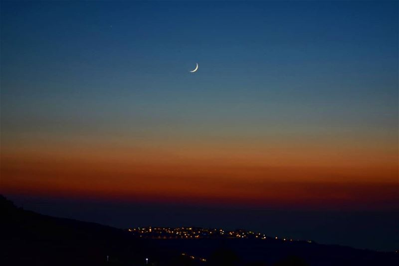 maybe the moon is beautiful because it is far  randomthought  bekaakafra ... (Bekaa Kafra)