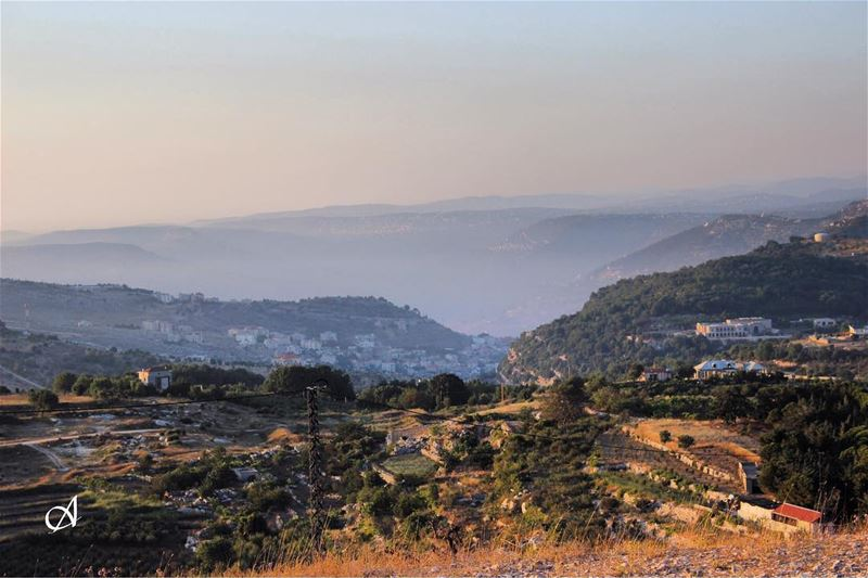 """Every mountain top is within reach if you just keep climbing"" - Barry... (Jezzîne, Al Janub, Lebanon)"