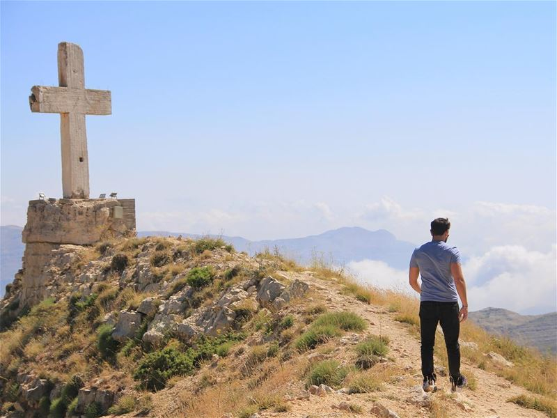 """I Am the light of the World. The one who follows me will never walk in... (El Laklouk, Mont-Liban, Lebanon)"