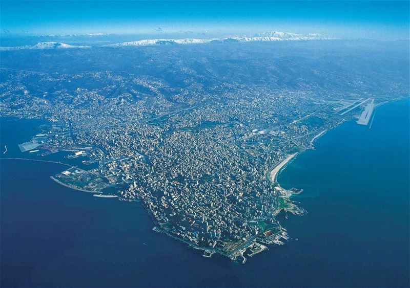 Beirut from the sky