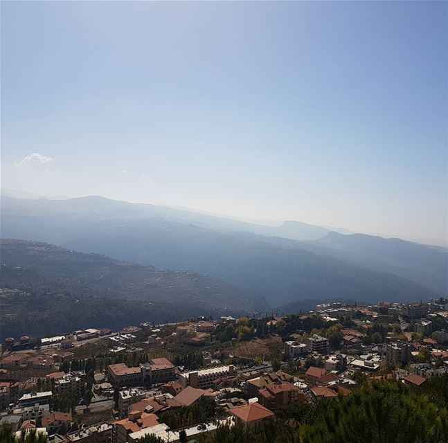 mybeautifulcountry  mountains  village  amazingview  wonderfulplaces ... (Ehden, Lebanon)