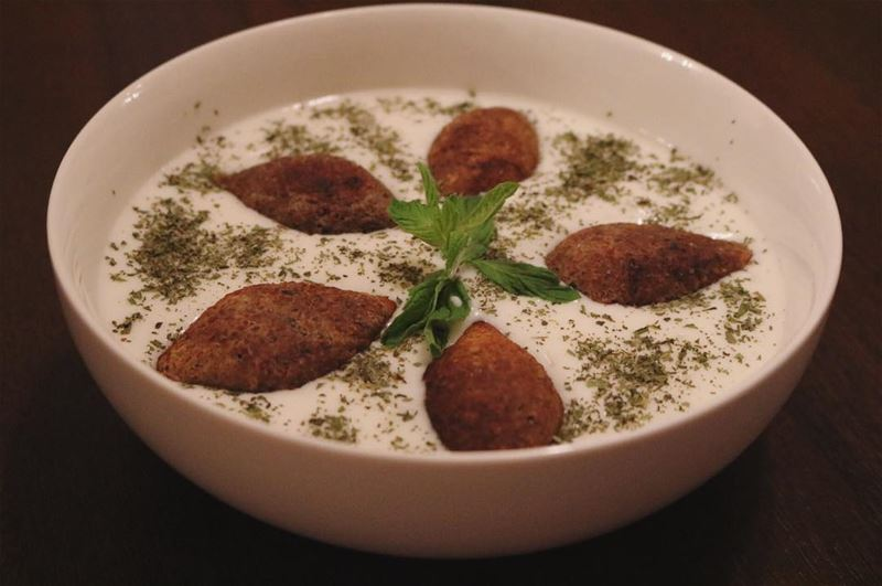 lunch  today  lebaneselunch  kebbeh bl  laban  yogurt  beef  delicious ...