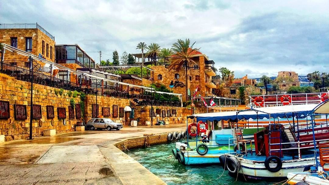 Byblos, Lebanon | 7,000 years old where the first letters ... |Old Byblos Lebanon